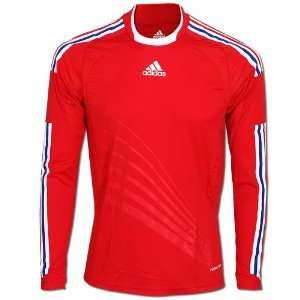 Adidas Fußball Trikot FFF A JSY PL Gr.M rot weiß (646290)