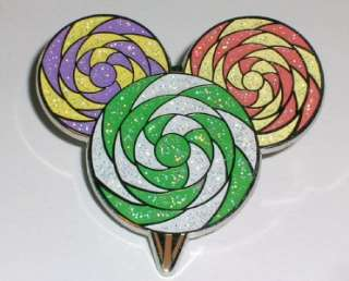 Mickey Mouse Icon * LOLLIPOP * Candy Sparkle Disney Pin