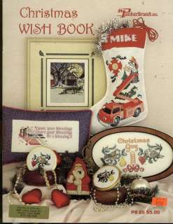 CHRISTMAS WISH BOOK COUNTED CROSS STITCH PATTERN