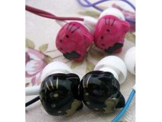 Hello Kitty Stereo Headphones Earphone Headset Great for  mp4 ipod