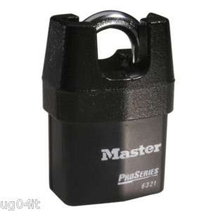 High Security Padlock Master Lock # 6321 Pro Series