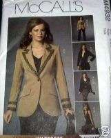 McCalls 4932 Pattern HIP CAREER WARDROBE 10 12 14 16