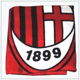 Football Team AC Milan FC Soccer Beach Bath Towel