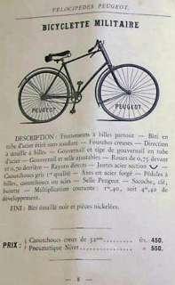 1895 PEUGEOT Upsloper 20.5 Fr Gents Safety Bicycle Vintage Antique