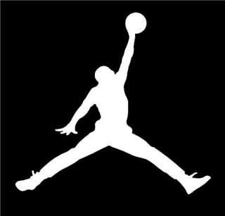 Michael Jordan Micheal Air Basketball Logo Symbol Car Vinyl Window