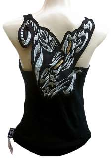 ROCKABILLY PUNK ROCK BABY Tattoo Gothic Designer TANK TOP SHIRT XS/S/M