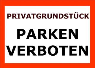parken verboten schild hinweisschild parkverbotschild. Black Bedroom Furniture Sets. Home Design Ideas