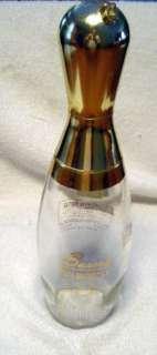 JIM BEAM BOURBON WHISKEY BOWLING PIN DECANTER PIN GLASS BOTTLE