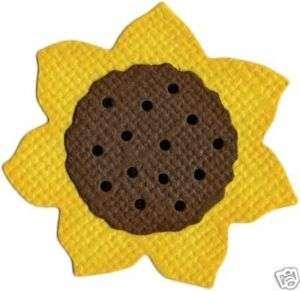 Sunflower Die Cut Embellishment Quickutz