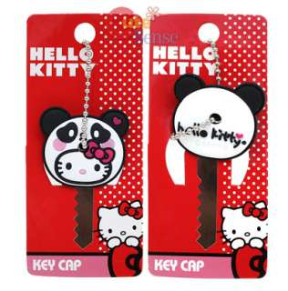 Sanrio Hello Kitty Key Cap Panda Kitty  Loungefly