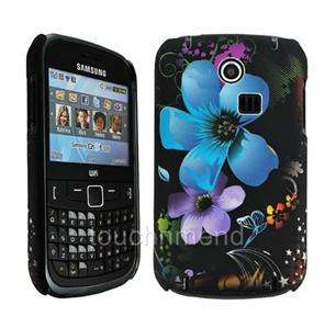FLORAL HARD SHELL CASE COVER SKiN FOR SAMSUNG GT S3350 CH@T 335