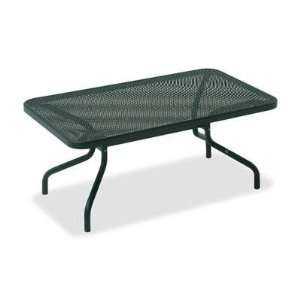 Emu Athena Steel 40 x 24 Rectangular Metal Patio End
