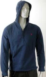 Brand New Pacha Ibiza Hooded Top Hoody Hoodie Blue MEDIUM