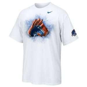Boise State Broncos Nike Gloves T Shirt