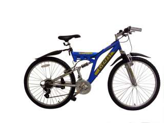 EVEREST Dual Suspension Mountain Bike, 21 SHIMANO Gears