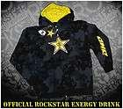 Rockstar Energy Drink Hoodie One Industries Clothing Motocross MotoX