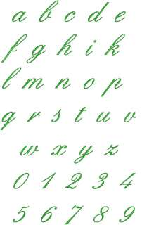 English Fonts Machine Embroidery Designs CD 4x4 FONT