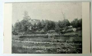 EATON OHIO POSTCARD PREBLE COUNTY CHILDRENS HOME