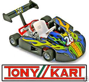 TONY KART X Concepts Last Series Tech Kart #26 blk NIB