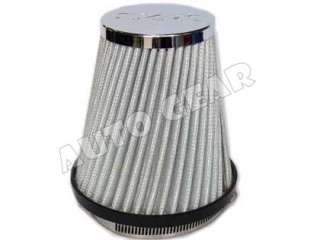 Universal UrbanX Chrome Silver Air Filter Induction Kit