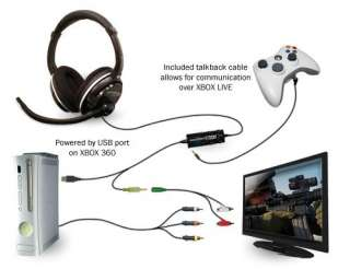 TURTLE BEACH EAR FORCE PX21 PS3 STEREO GAMING HEADSET