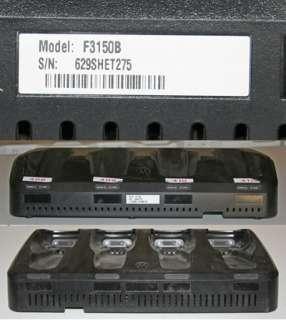 MOTOROLA 4 PT CHARGER CRADLE HC700 SCANNER BASE F3150B