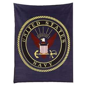 Military Insignia Fleece Blankets: Sports & Outdoors