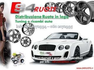 F332/D KIT 4 CERCHI DA 17 RS4 AUDI A3 4 6+ VW GOLF 5 6