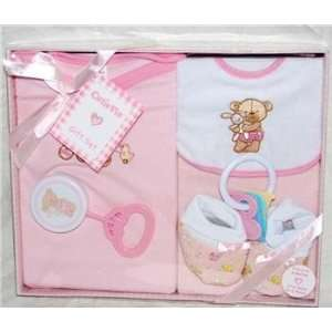 Cutie Pie 6pc Baby Girl Gift Set: Baby
