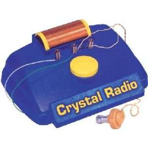 Crystal Radio Kit  Toys & Games