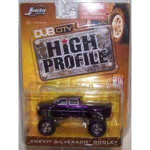 Jada Toys 1/64 Scale Diecast High Profile Chevy Silverado