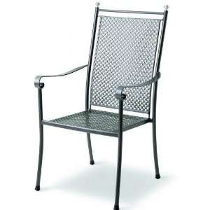Kettler Excelsior Wrought Iron High Back Chair Patio