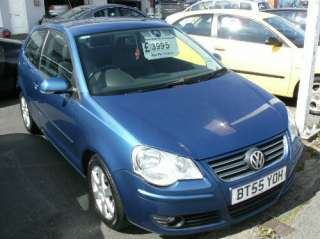 2006 55 VW POLO 1.4 FSI SPORT BLUE METALLIC