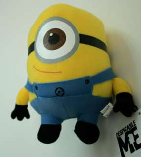 DESPICABLE ME MINION PLUSH MINIONS TOY STUART Brand new