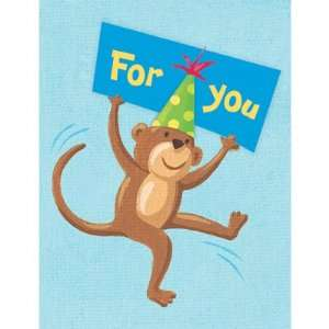 Birthday Monkey Gift Enclosure Card Gift Cards