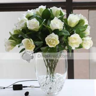 Wholesale Floral Decor Silk Cape Jasmine Artificial Flower