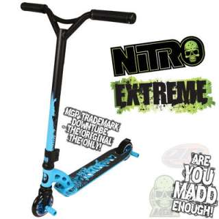 MGP Nitro Extreme Blue Stunt Scooter IN STOCK NOW FOR FAST FREE