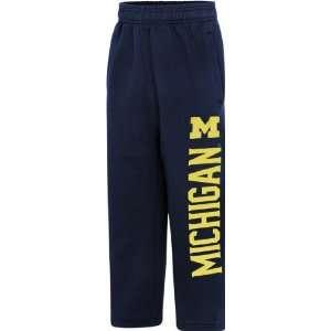 Michigan Wolverines Youth Navy Big Print Sweatpants