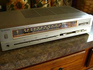 Technics SA 110 AM FM Stereo Receiver Very NICE
