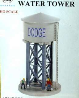 MODEL POWER HO SCALE DODGE WATER TOWER BUILDING KIT