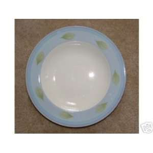 and Boch Twist Candy Blue Deep Plate/ Soup Bowl Kitchen & Dining