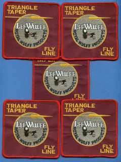 Lot Lee Wulff Fly Line Bass Trout Fishing Patches