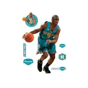 Fathead Chris Paul New Orleans Hornets Wall Decal:  Sports