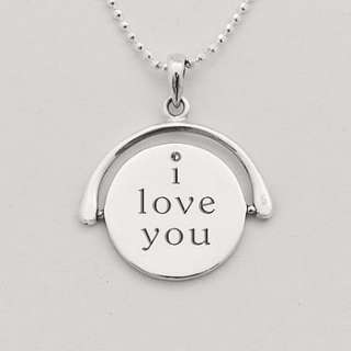 Silver spinning secret. Say 'I Love You' in a unique way, with