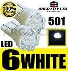 LED XENON WHITE 501 T10 W5W SIDELIGHT BULBS MERCEDES BENZ SPRINTER VAN
