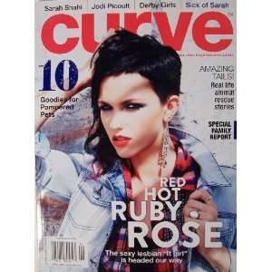 Curve Magazine: Red Hot Ruby Rose ((April 2011)): Various