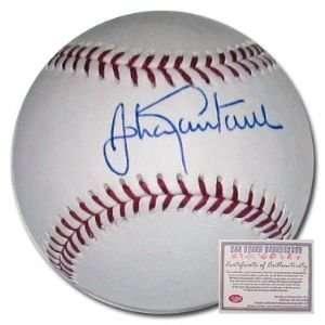 Johan Santana New York Mets Hand Signed Rawlings MLB Baseball