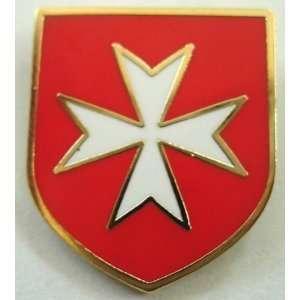 Maltese WHITE Cross Crusader Warrior St. John Order Knight