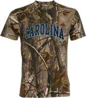 North Carolina Tar Heels Realtree Outfitters Camouflage T Shirt