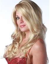 Deluxe Blonde/light Blonde Siren Wig Adult